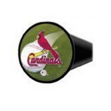 "MLB Licensed St. Louis Cardinals 4"" Round Design Hitch Cover"