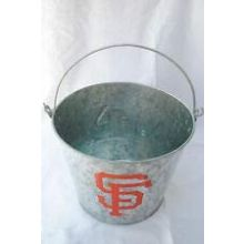 a-game San Fransisco Galvanized 5 Qt. Aluminum Ice Bucket