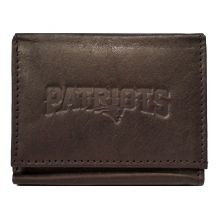 New England Patriots Brown Leather Wallet