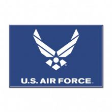 """United States Air Force 2.5"""" X 3.5"""" Metal Magnet"""