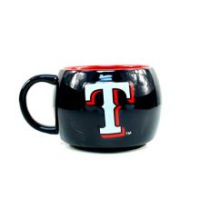 MLB Texas Rangers Stack Relief Mug, 14-ounce