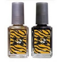 NCAA Officially Licensed Mizzou Tigers 2-pack Nail Polish Set