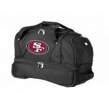 NFL Officially Licensed Rolling Sports Luggage (San Francisco 49ers)