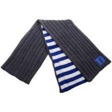Zoozatz Duke Blue Devils Charcoal Varsity Pocket Scarf