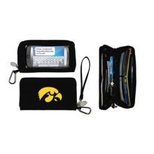 Charm14 NCAA Iowa Hawkeyes Deluxe Cell Phone Wallet-Fits All Phones