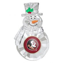 NCAA Florida State Seminoles Traditional Snowman Ornament