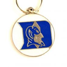 NCAA Officially Licensed Pewter Keychain Keyring (Duke University)