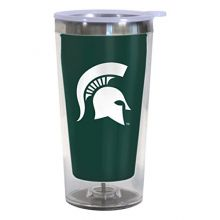 Boelter Brands NCAA Michigan State Spartans Color Changing Tumbler with Lid, 16-Ounce
