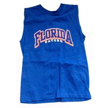 Red Oak Sportswear NCAA Licensed Florida Gators Sleeveless Youth T-Shirt (16/18)