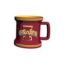 NCAA Iowa State Cyclones Sculpted Mini Mug, 2-ounce