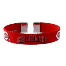 MLB Cincinnati Reds Ribbon Band Bracelet