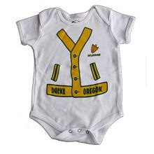 Bama NCAA Licensed Oregon Ducks White Bodysuit Creeper Crawler (18 Months)