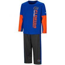 Colosseum University of Florida Gators Toddler Boy's Long Sleeve Shirt/Pant Set (2T)