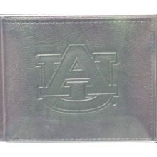 fan gear Auburn Tigers Black Leather Bi-Fold Wallet