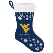 NCAA West Virginia Mountaineers Snowflake Stocking