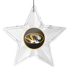 NCAA Missouri Tigers Traditional Acrylic Star Ornament