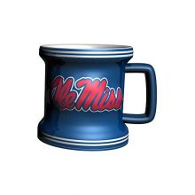 NCAA Mississippi Ole Miss Rebels Sculpted Mini Mug, 2-ounce