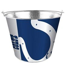 Boelter Brands NFL Indianapolis Colts Bucket 5 Quart Hype Design, Team Colors, One Size
