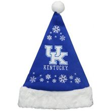 NCAA Kentucky Wildcats Full Embroidered Snowflake Santa Hat