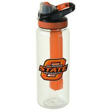 Cool Gear Oklahoma State University Bottle, 32 oz, Orange/Black
