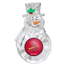 NCAA Louisville Cardinals Traditional Snowman Ornament