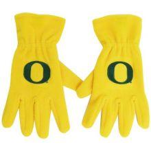 Donegal Bay NCAA Oregon Ducks Men's Fleece Gloves with O, Yellow