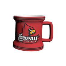 NCAA Louisville Cardinals Sculpted Mini Mug, 2-ounce
