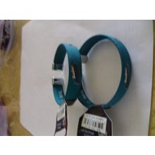 aminco San Jose Sharks Ribbon Band Bracelet