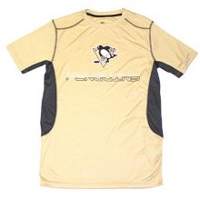 NHL Pittsburgh Penguins Short Sleeve Team Color Shirt (Men's Small 34/36)