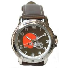 Rico Cleveland Browns Classic Men's Sport Watch Brown Band