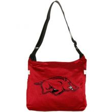 Football Fanatics NCAA Arkansas Razorbacks Ladies Cardinal Veteran Jersey Tote Bag