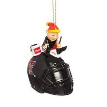 Team Sports America Texas Tech University Helmet Elf Ornament