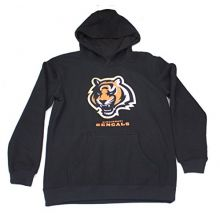 Outerstuff Cincinnati Bengals Youth Reflective Gold Trim Hoodie Medium 10-12