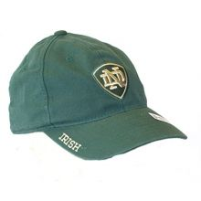 NCAA Officially Licensed Notre Dame Youth Green Stretch Fit Hat Cap Lid