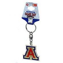 GAMEDAY NCAA Officially Licensed Shanghai Key Chain Key Ring (Arizona Wildcats)