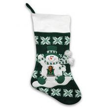 Team Sports America Marshall Snowman Knit Stocking