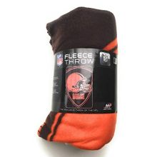 """The Northwest Company Cleveland Browns 40"""" x 60"""" Shield Fleece Throw Blanket"""
