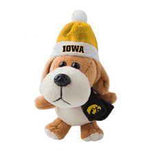 NCAA Iowa Hawkeyes Plush Dog Ornament