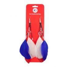 MLB Philadelphia Phillies Feather Earrings