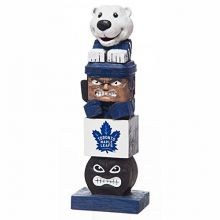 Team Sports America Evergreen NHL Toronto Maple Leafs Tiki Totem