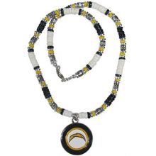 NFL San Diego Chargers Shell Necklace, 18-Inch, White