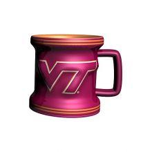 NCAA Virginia Tech Hokies Sculpted Mini Mug, 2-ounce