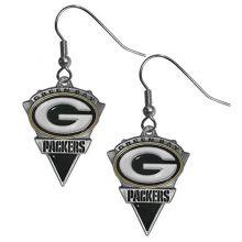 NFL Green Bay Packers Cast Dangle Earrings