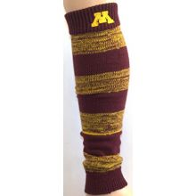 Zoozatz NCAA Minnesota Golden Gophers Leg Warmers