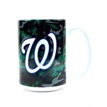 Boelter Brands Washington Nationals 15-Ounce Ceramic Camo Mug