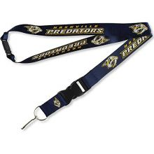 aminco Nashville Predators Team Color Breakaway Lanyard Key Chain