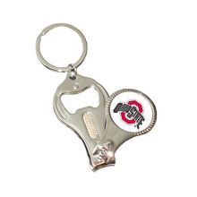 NCAA Ohio State Buckeyes 3-in-1 Nail Clipper Keychain