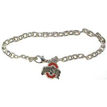Bama NCAA Officially Licensed Ohio State Buckeyes Logo Chain Bracelet