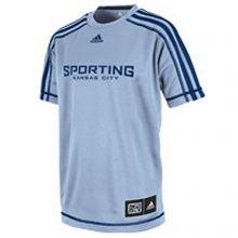 MLS Licensed Kansas City Sporting YOUTH Climalite Shirt (X-Large)