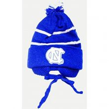 NCAA Licensed YOUTH SIZED Tassle Pom Beanie Hat